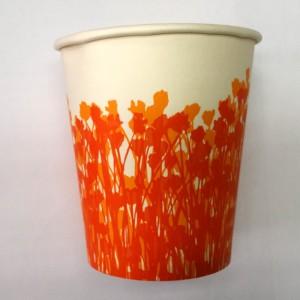 7OZ PAPER CUP (ORANGE)